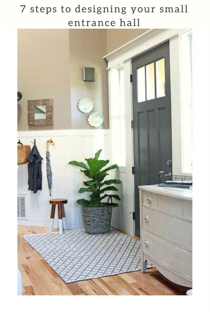 7 easy steps to designing your small entrance hall