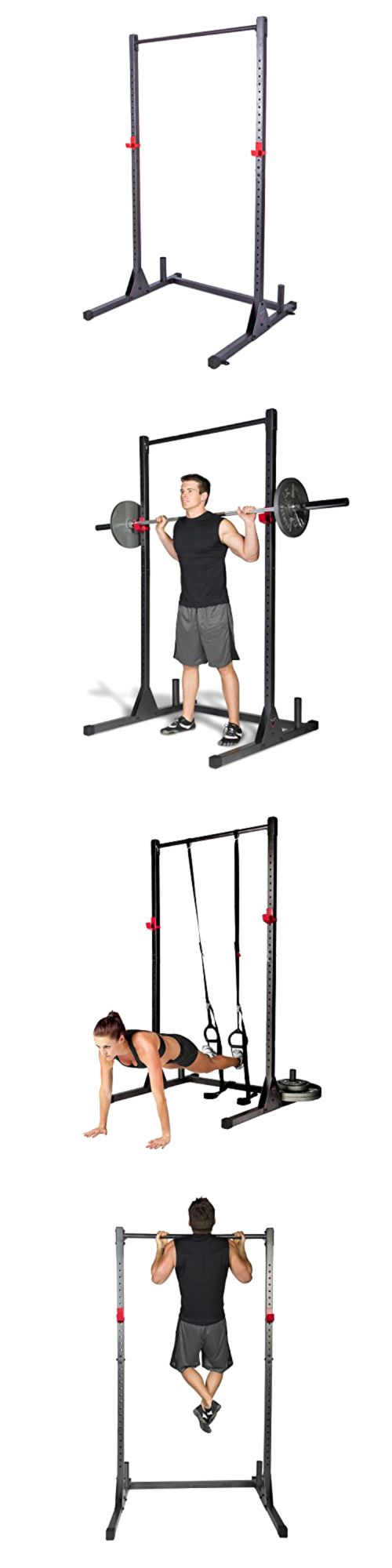 Pull Up Bars 179816: Home Gym Pull Up Bar Power Rack Exercise Stand Body Building Workout Fitness New BUY IT NOW ONLY: $110.92