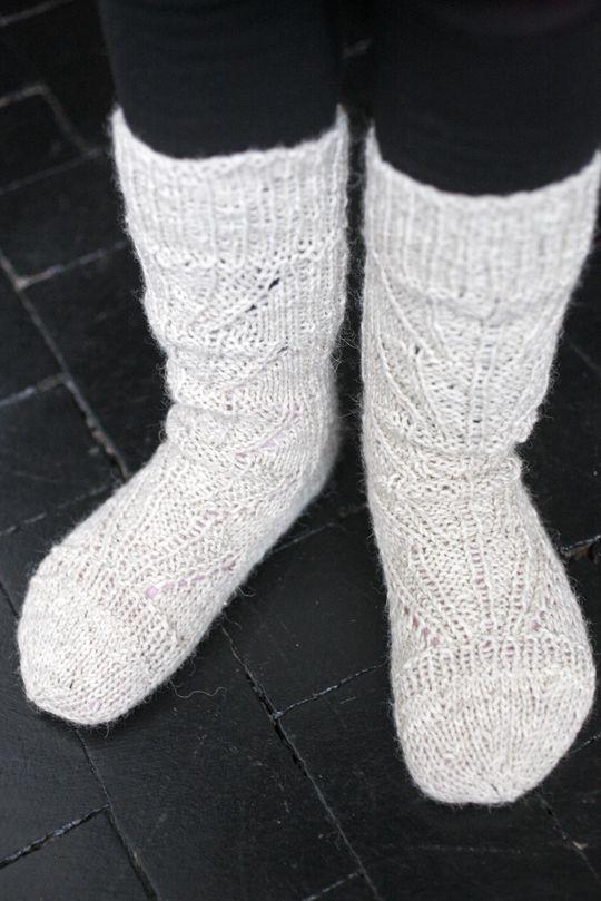 Novita wool socks, Knitted socks made with Novita Nalle (Teddy Bear) yarn #novitaknits #knitting #knits #villasukat #raggsockor https://www.novitaknits.com/en