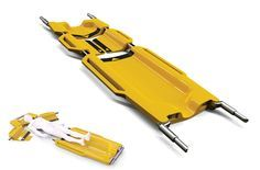 Lenify - Emergency Stretcher eliminating secondary injuries caused by lifting patients onto the stretcher by Danny Lin