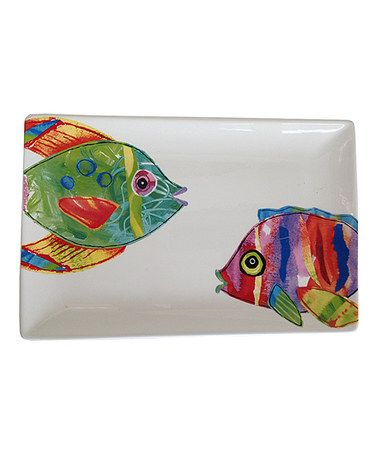 This Fish Out of Water Platter is perfect! #zulilyfinds