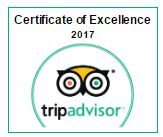 ATN Car Received an award from TripAdvisor.