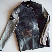 Бежевое пальто кокон из ручного войлока, короткое пальто оверсайз – купить или заказать в интернет-магазине на Ярмарке Мастеров   Элегантное укороченное пальто V-образного силуэта…