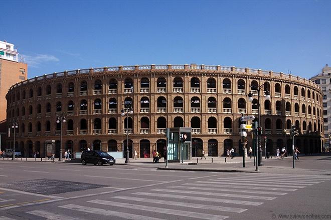 Plaza de Toros. Valencia. Spain