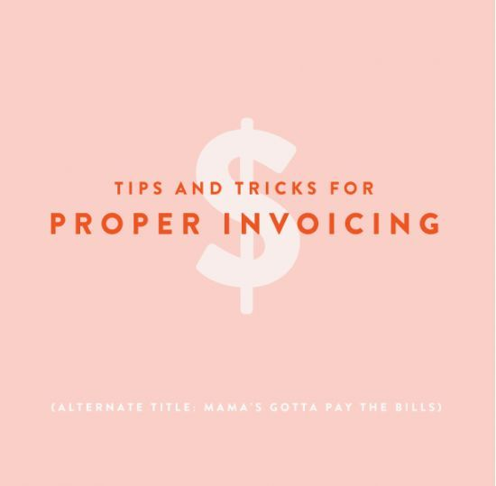 Tips and Tricks // Freelance Pricing and Invoicing | grownupshoes.com business tips #succeed #business