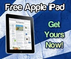 Free iPad, get yours now