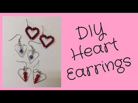 Best 25+ Diy heart earrings ideas on Pinterest | DIY earrings how ...