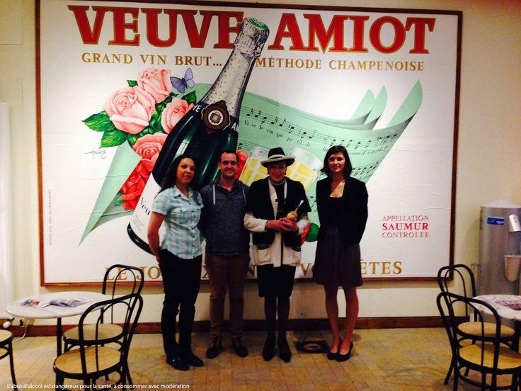 Madame Geneviève De Fontenay à la Maison Veuve Amiot