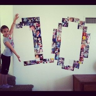 Age made up of photos