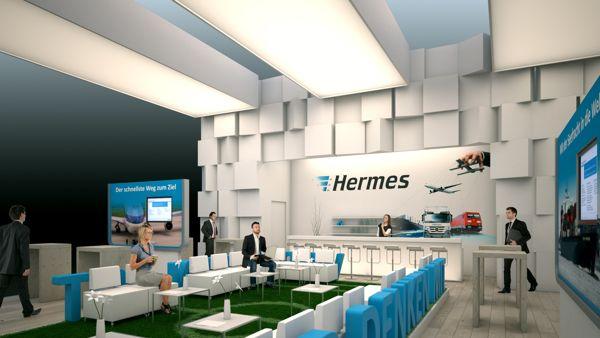 Hermes / Transport und Logistic 2013 pitch by Björn Radler, via Behance