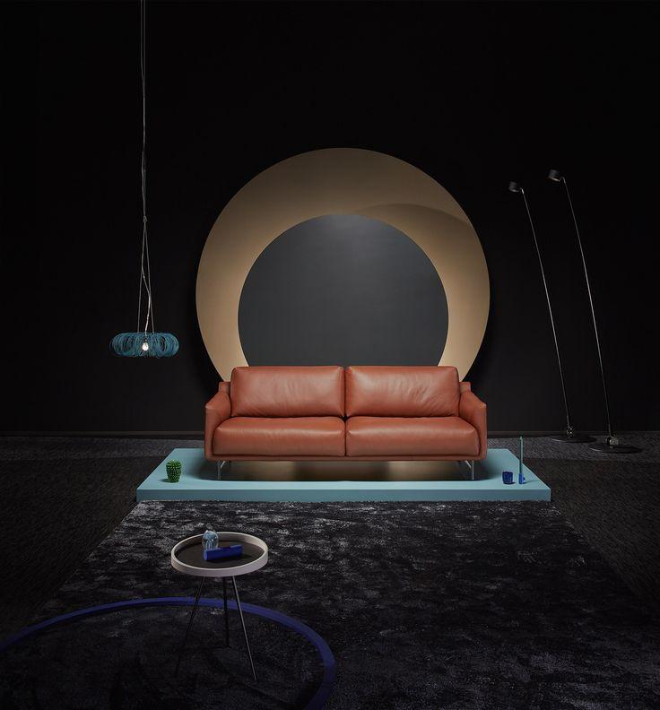 LEOLUX / bank AZZURO  fotograaf: rene van der hulst concept & styling: isabel croon & jose martens Lamp Donut / www.forloversofinterior.com