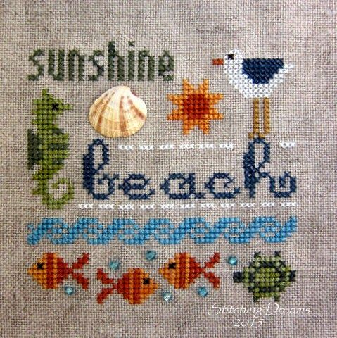 Good morning, my stitching friends! Happy last day of April... And on to the (hopefully) warmer, sunnier month of May. I always loved May ...