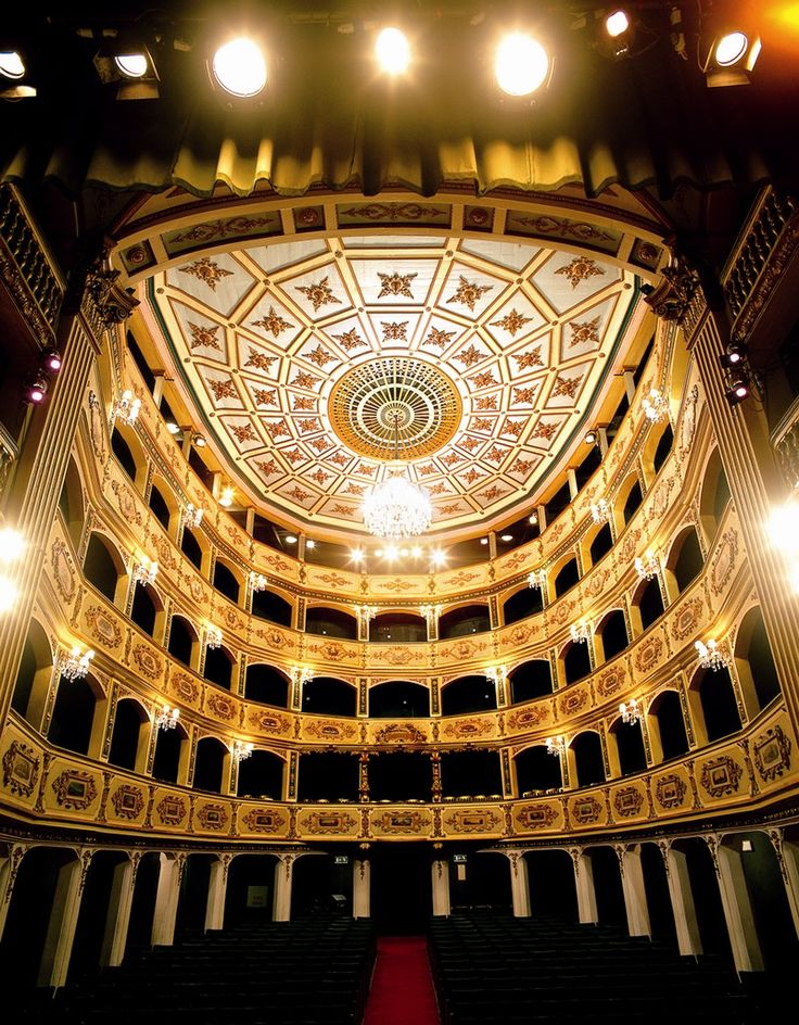Teatru Manoel, Malta. You can see opera, theatre, and musical performances here throughout the winter!