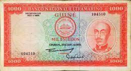 Nota 1.000 escudos - Guiné