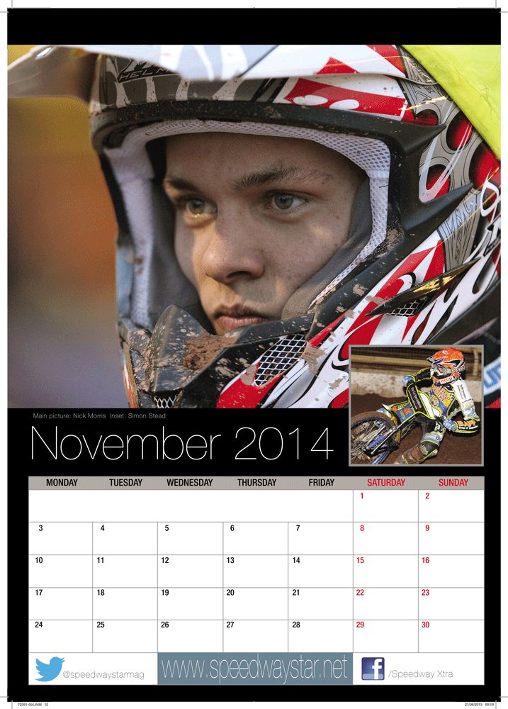 Main picture: Nick Morris  Inset: Simon Stead http://www.azimuthprint.co.uk/printing/wall-calendars/