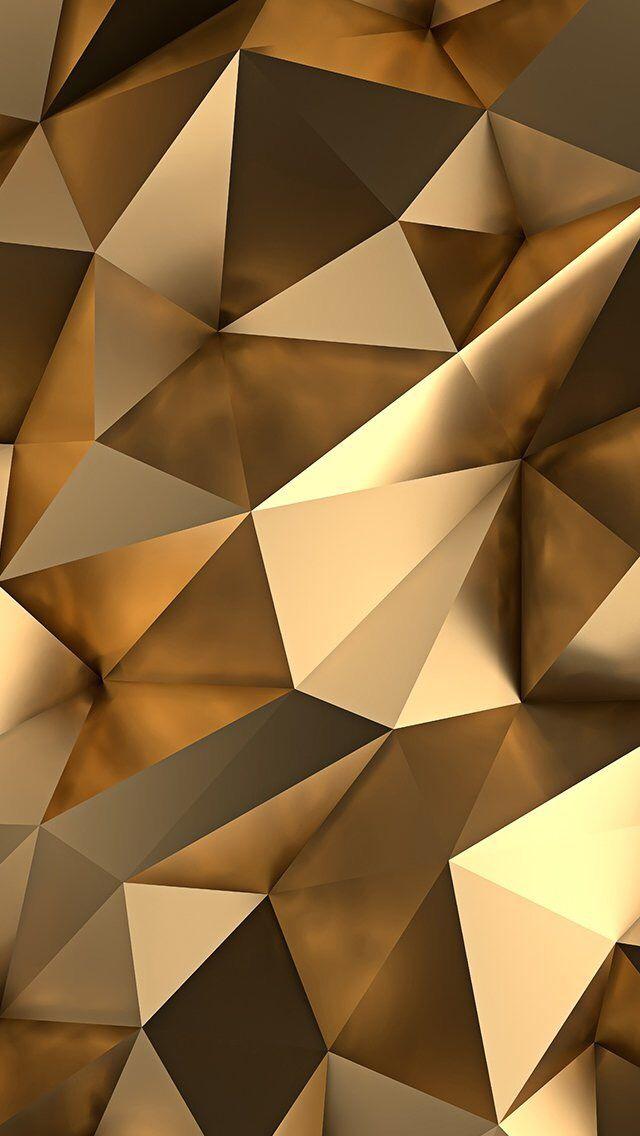 golden wall paper