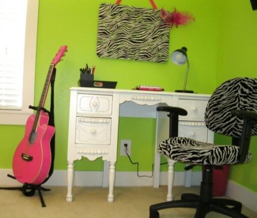 Idea for a little girls' bedroom
