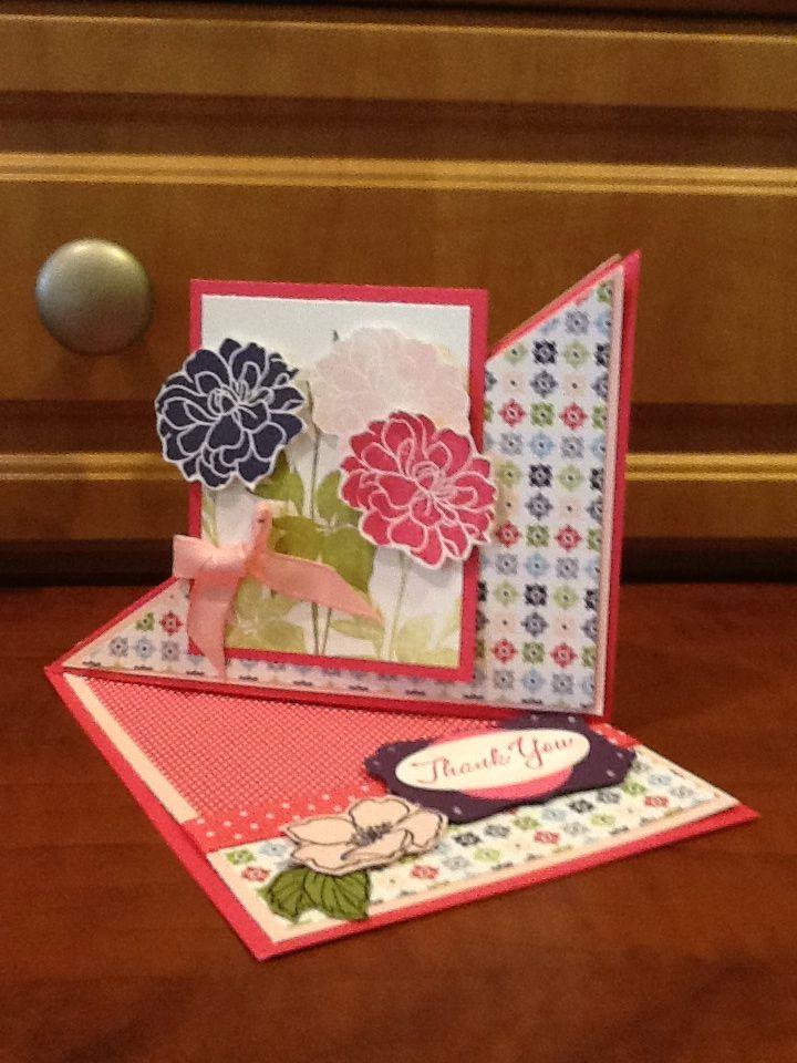 Triangle Fold Card!