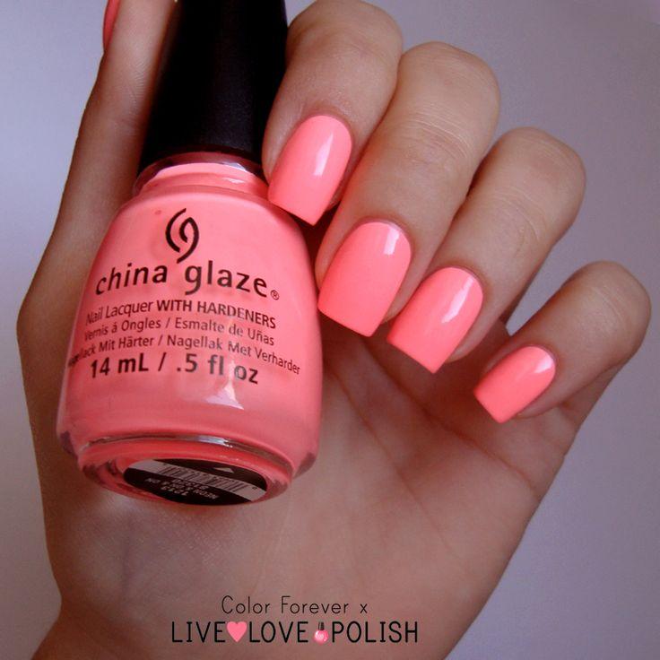 Live Love Polish: China Glaze Neon
