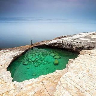 Thasos | An ideal place to experience the island's natural pools and blue waters. 25 Incredible Greek Islands You Need To See Before You Die