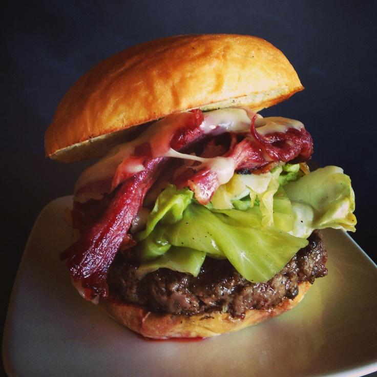 the #irish burger