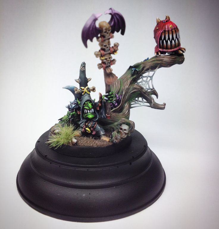 Night Goblin Shaman painted for fun in free time. #warhammer #orcsandgoblins #goblin #shaman
