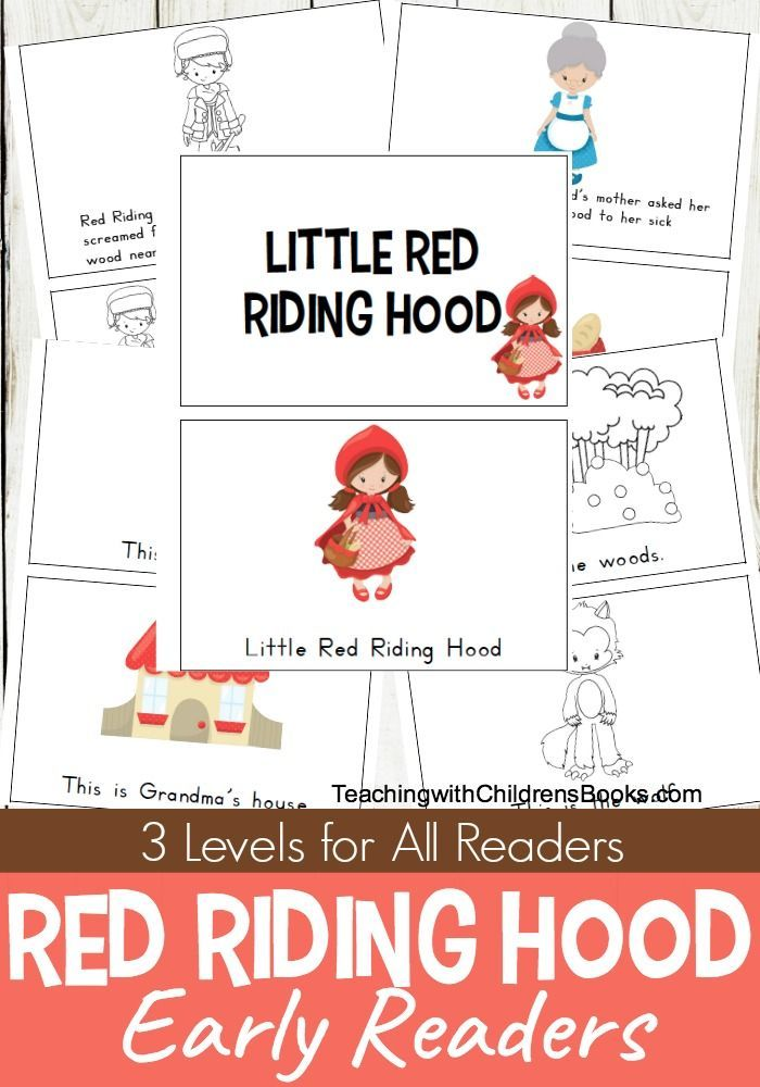 This Set Includes Three Versions Of A Little Red Riding Hood Mini