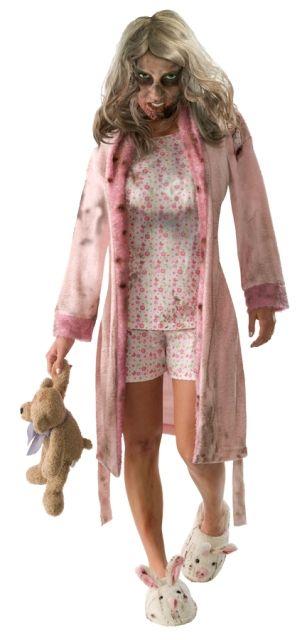 Walking Dead Zombie Costume - Womens Costumes