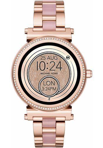 fc4aae53d0e MICHAEL KORS ACCESS SOFIE, MKT5022 Smartwatch (Android Wear, inkl.  Dornschließe für Wechselband
