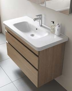 Duravit Durastyle 1200mm Vanity Unit with 2 Drawer - DS64950