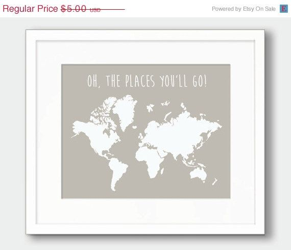 The 25 best world map silhouette ideas on pinterest world map 15 off world map printable art oh the by thekismetprintpress sciox Image collections