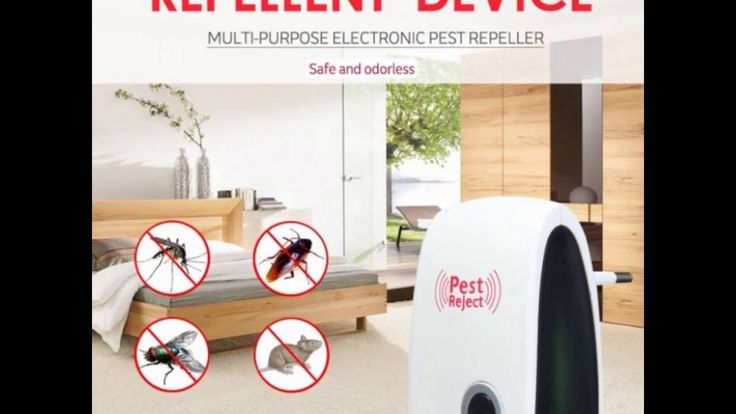 repelente electronico de plagas pest- reject  SI FUNCIONA