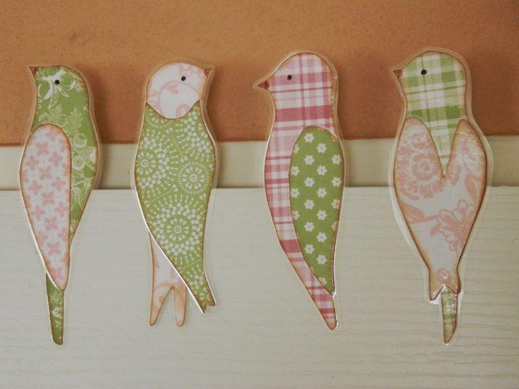 Tvoření od IVETULE: Ptáčci sedící na ....