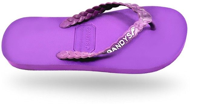 Gandys Originals Flip Flops - L.a Purple