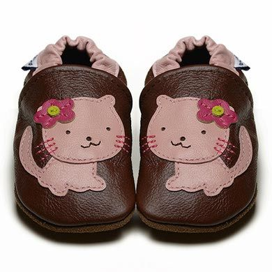 Pussycat Pussycat - Soft Sole Baby Shoes |  The ideal first shoe choice for new walkers I Fox & Frog