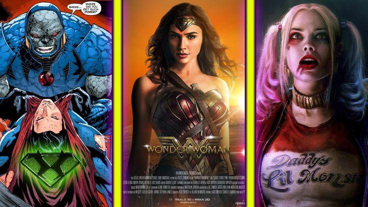 DARKSEID En Justice League | PRÓXIMAS PELÍCULAS de DC y Más