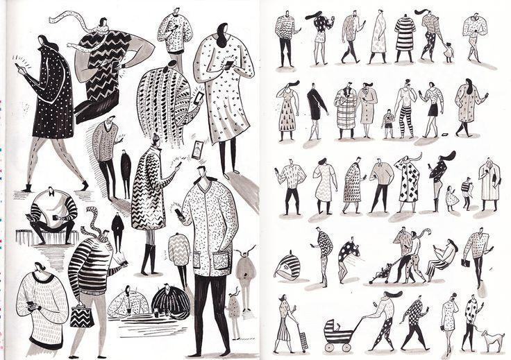 Sketches - Yukai Du