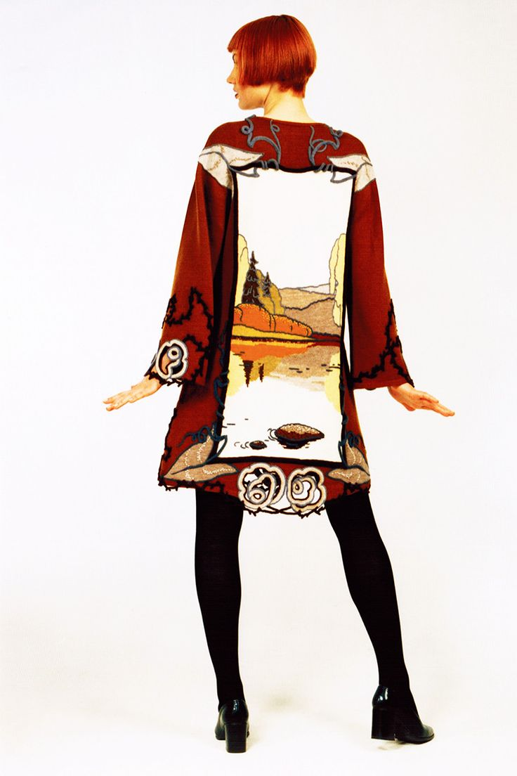 Alexander Seraphim's knitwear, 1997