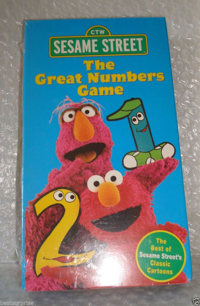 Closing to Sesame Street: The Great Numbers Game 1998 VHS ...
