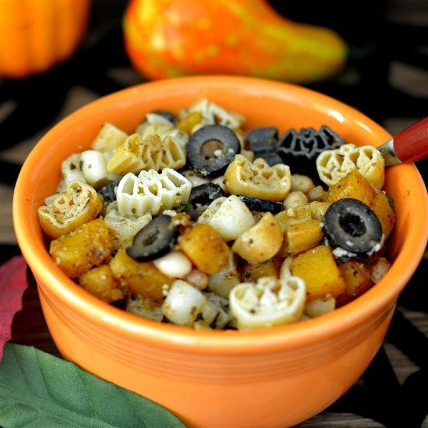 """Halloween Pasta  """"This pasta can be eaten any time but is best for Halloween. Very tasty and no need for sauce."""""""