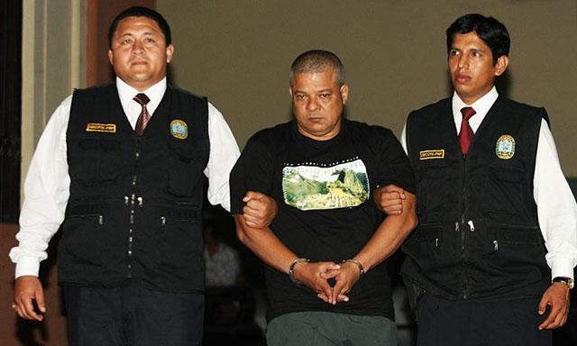 Colombian drug lord Jacinto Nicolas Fuentes German arrested in Peru