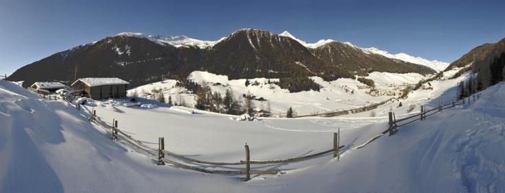 Prettau/Predoi in Winter