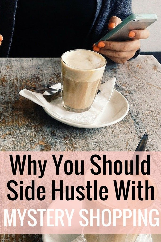 One of the easiest ways to side hustle is by mystery shopping. You can mystery shop from anywhere, here's how!