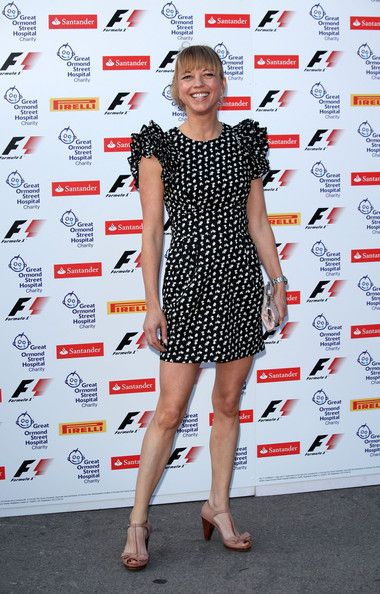 Sara Cox Photos - Sara Cox arrives for the F1 party at the Natural History Museum on July 6, 2011 in London, England. - The F1 Party