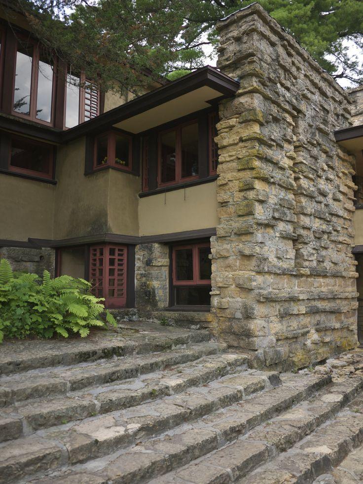 Les 182 meilleures images du tableau frank lloyd wright - Architecture organique frank lloyd wright ...