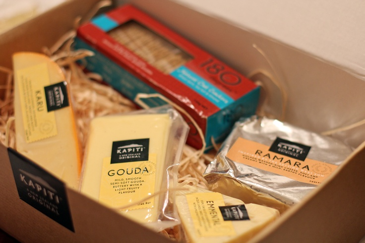 The Perfect Composition? Sake & Cheese Tasting, NZ,  Kapiti Cheese Tasting - Hamper