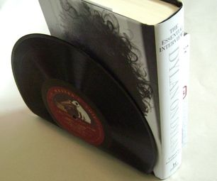 Vinyl Record Bookends - instructions Also Best Place to buy Vinyl Records Online : http://records-plus.com