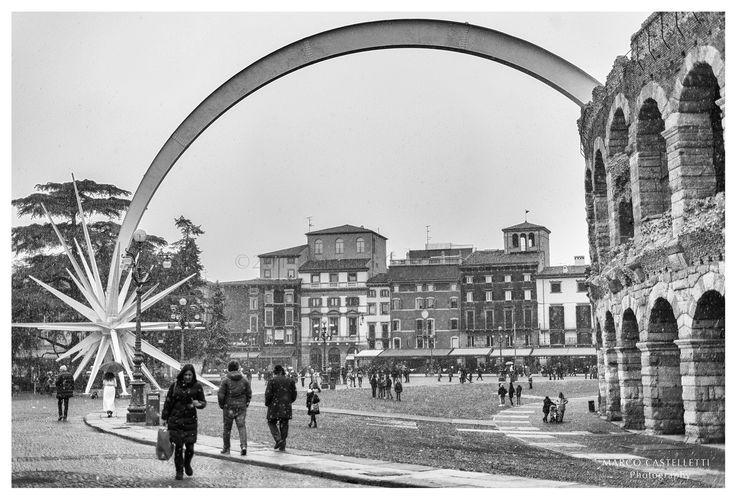 Piazza Bra. Verona.