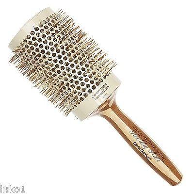 "Olivia Garden #HH-63 3-1/2"" Bamboo Ceramic Ionic Hair brush"