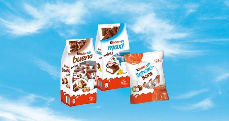 Du får chansen att testa Kinder påsar och även dela ut kuponger till vänner och familj. Bjud på chokladbitarna som en lätt efterrätt.